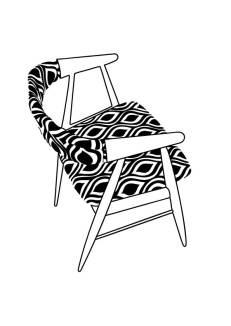 Mid century Danish chairs