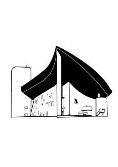 Le Chapelle Notre-Dame du Haut, Ronchamp. Le Corbusier